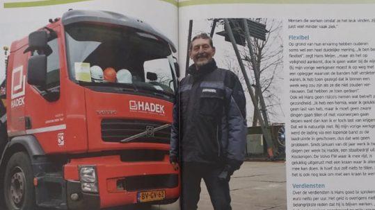 Doorwerken na je pensioen – ChauffeurXpert in Truckstar magazine